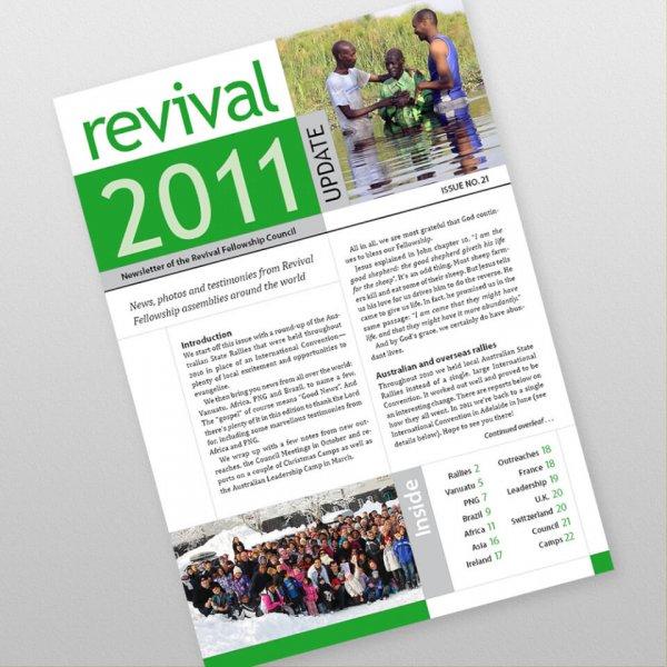 Revival Fellowship international newsletter 21