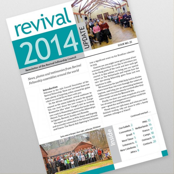 Revival Fellowship international newsletter 25
