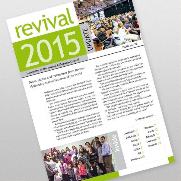 Revival Fellowship international newsletter 26