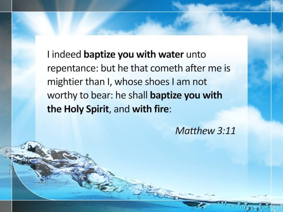 Matthew 3:11