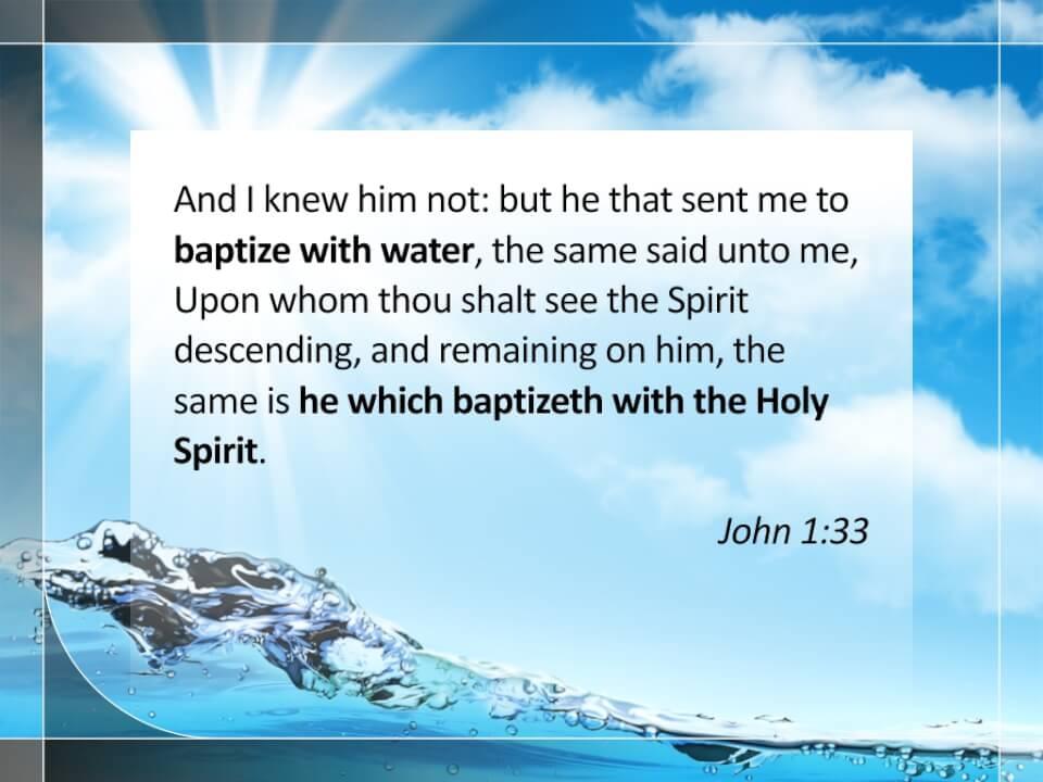 John 1:33