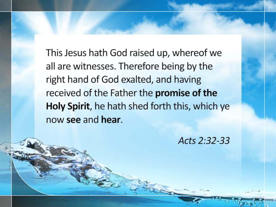Acts 2:32-33