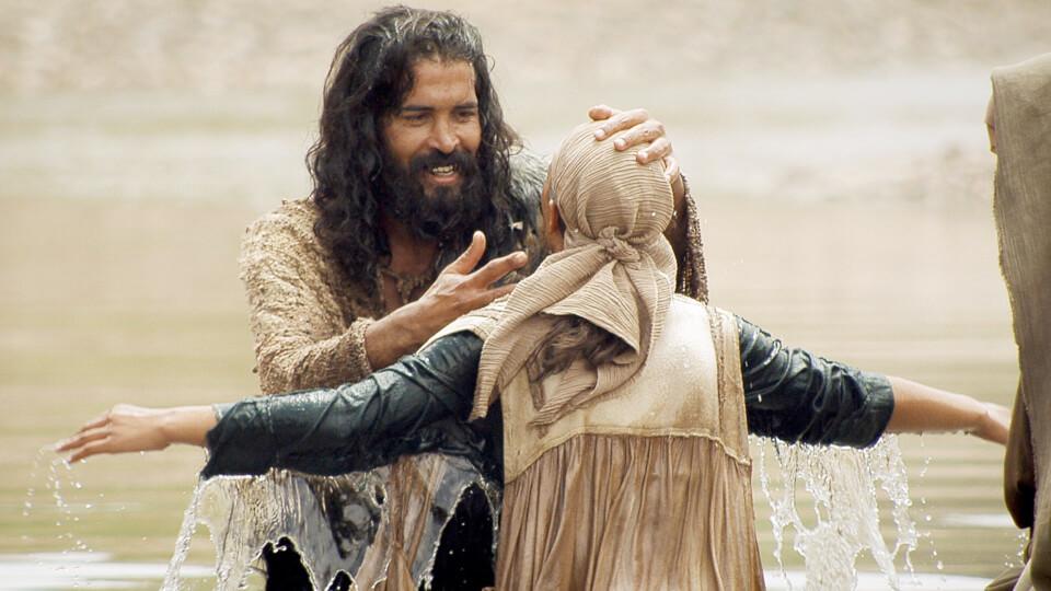 John the Baptist baptising