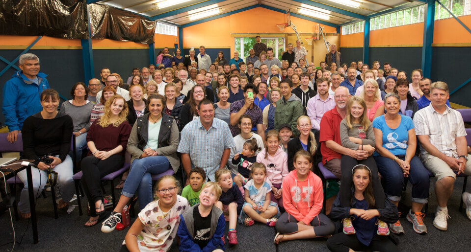 New Zealand Revival Fellowship at summer camp