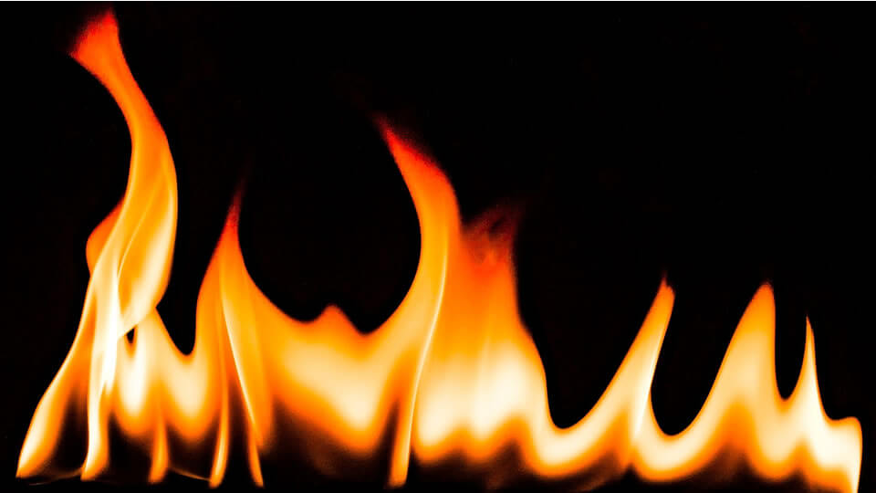 Tongues or flames of fire