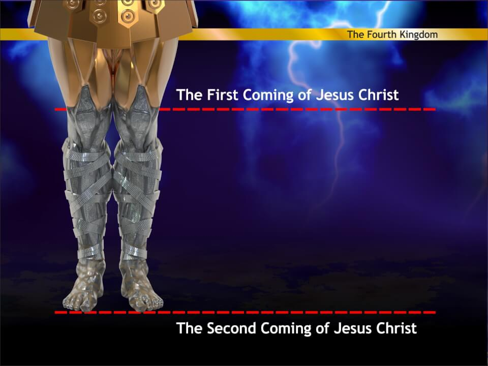 The first and second comings of Jesus Christ