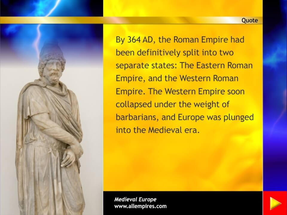 The beginnings of Medieval Europe