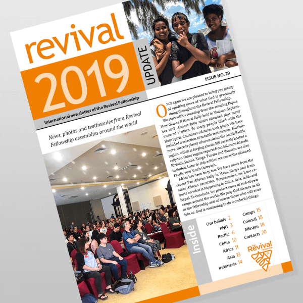 Revival Fellowship international newsletter 29
